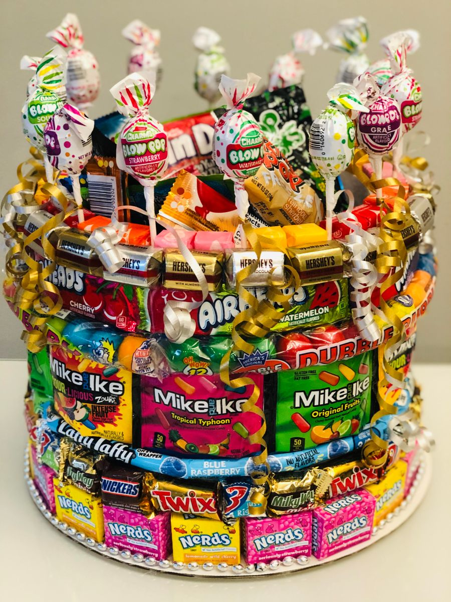 Candycakeexplosion Our Candy Cakes Are Designed With Love And A Wonderful Addition To All Special Occasions Can Be Customized For Even The Pickiest Of Eaters Created